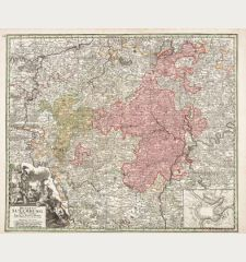 Ducatus Luxemburg Distintis Limitibus Majorum et Minorum Ditionum Exacte Designatus et in Lucem Editus