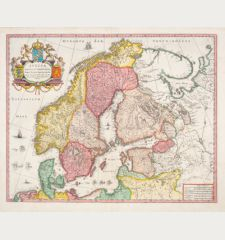 Suecia, Dania, et Norvegia, Regna Europae Septentrionalia