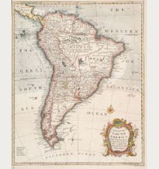 A Map of South America with All the European Settlements & Whatever Else is Remarkable from the Latest & Best Observations.
