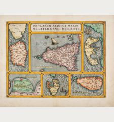 Insularum Aliquot Maris Mediterranei Descriptio.