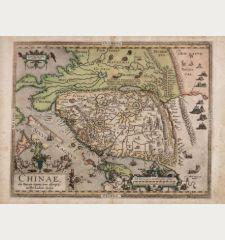 Chinae, olim Sinarum Regionis, nova descriptio. Auctore Ludovico Georgio.