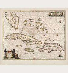 Insularum Hispaniolae et Cubae, Cum Insulis circumjacentibus accurata delineatio.
