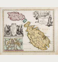 Insulae Maltae nova et accurata Tabula