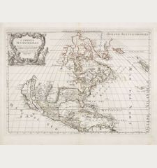 L'America Settentrionale. Nuovamente Corretta et Accresciuta Secondo le Relationi Piu Moderne da Guglielmo Sansone...