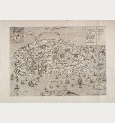 Isle et Siege de Malte