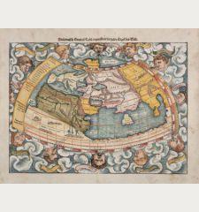 Ptolemaisch General Tafel, begreiffend die halbe Kugel der Welt