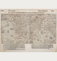 Constantinopel des Griechischen Keyserthumbs hauptstatt im land Thracia am Moere gelegen