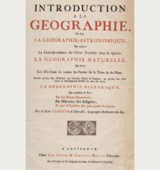 Introduction a la Geographie