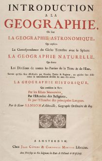 Antique Maps, Covens and Mortier, World Map, 1730: Introduction a la Geographie