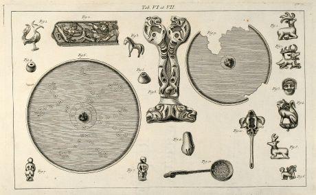 Grafiken, le Clerc, Tataren, Kosaken, 1783: Tab. VI et VII.