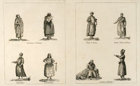 Graphics, le Clerc, Tartar, Armenia, Caucasus, 1783: untitled