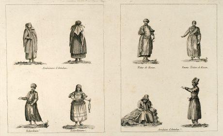 Grafiken, le Clerc, Tataren, Armenien, Kaukasus, 1783: Kein Titel