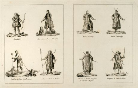 Graphics, le Clerc, Siberia, 1783: untitled