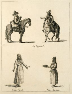 Graphics, le Clerc, Siberia, Kirghizia, 1783: untitled