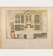 Plan general du Chateau de Clagny pres Versailles