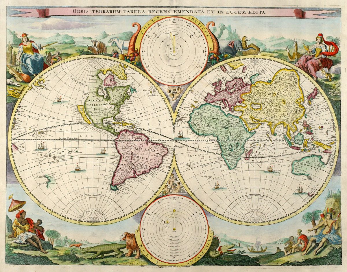 World Maps Antique Maps And Historical Atlases Götzfried - World maps images