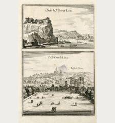 Chast. de St. Piere en Lion / Belle Cour de Lion