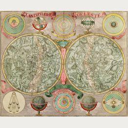 Antike Himmelskarten