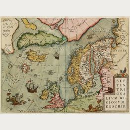 Antique Maps of the Oceans