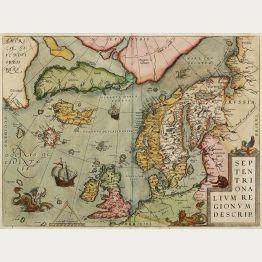 Antike Landkarten der Weltmeere