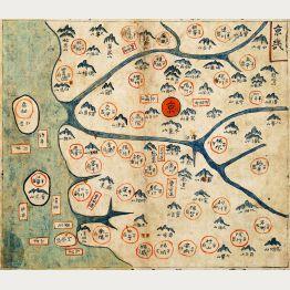 Manuskript-Landkarten