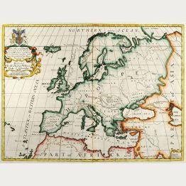 Antike Landkarten von Europa