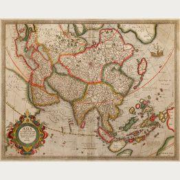 Antike Landkarten von Asien