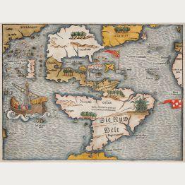 Antike Landkarten von Amerika