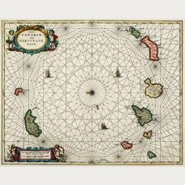 Antike Seekarten