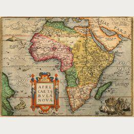 Antike Landkarten von Afrika