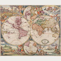 Weltkarten - Antike Landkarten und alte Atlanten