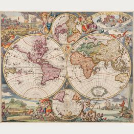 World Maps - Antique Maps and Historical Atlases
