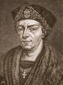 Konrad Celtis (*1459 - † 1508)