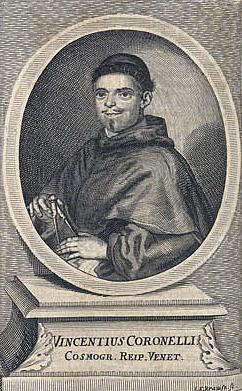 Vincenzo Maria Coronelli (*1650 - † 1718)