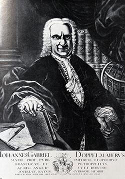 Johann Gabriel Doppelmayr (*1671 - † 1750)