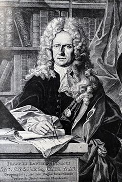 Johann Baptist Homann (*1664 - † 1724)