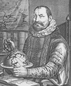 Jodocus Hondius (*1563 - † 1612)