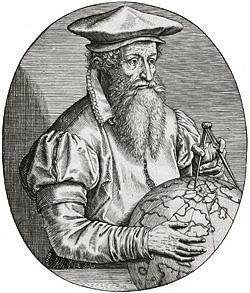 Gerard Mercator (*1512 - † 1594)