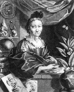Maria Sibylla Merian (*1647 - † 1717)