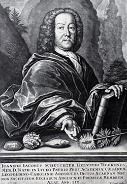Johann Jakob Scheuchzer (*1672 - † 1733)