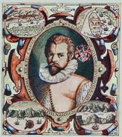 Jan Huygen van Linschoten (*1563 - † 1611)