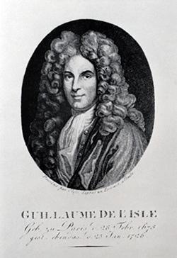 Guillaume de l'Isle (*1675 - † 1726)